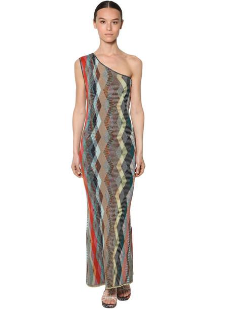 MISSONI One-shoulder Viscose Knit Dress