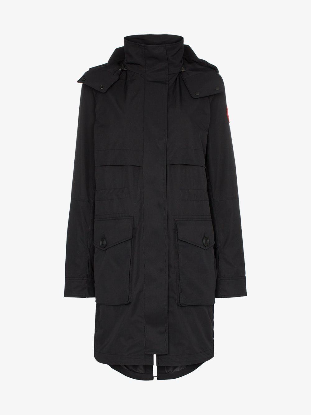 Canada Goose Cavalry trench coat in black
