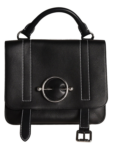 J.W. Anderson Jw Anderson Disc Shoulder Bag in black