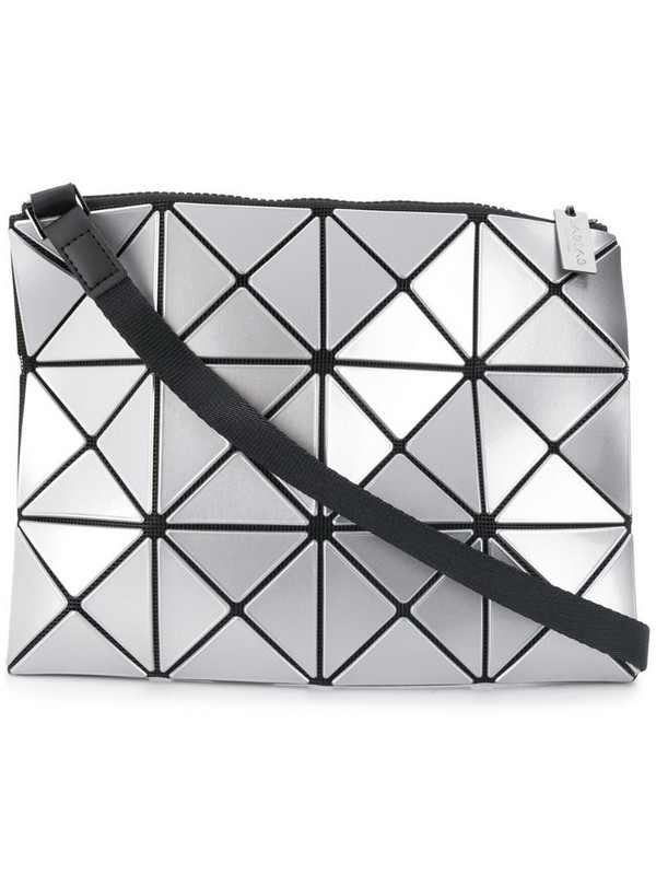 Bao Bao Issey Miyake Lucent cross-body bag in silver