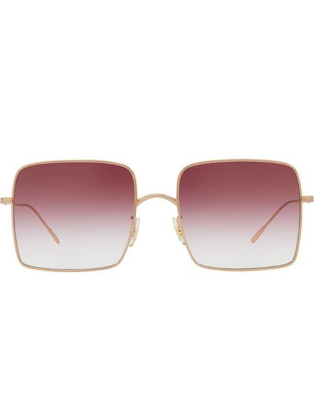 Oliver Peoples Rassine sunglasses in metallic