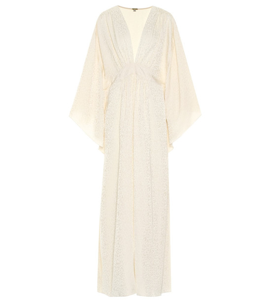 Johanna Ortiz I Want to Hold Your Hand dress in beige