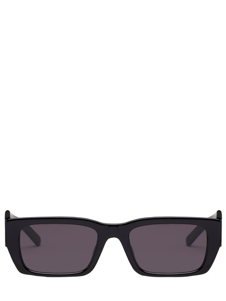 PALM ANGELS Palm Squared Acetate Sunglasses in black