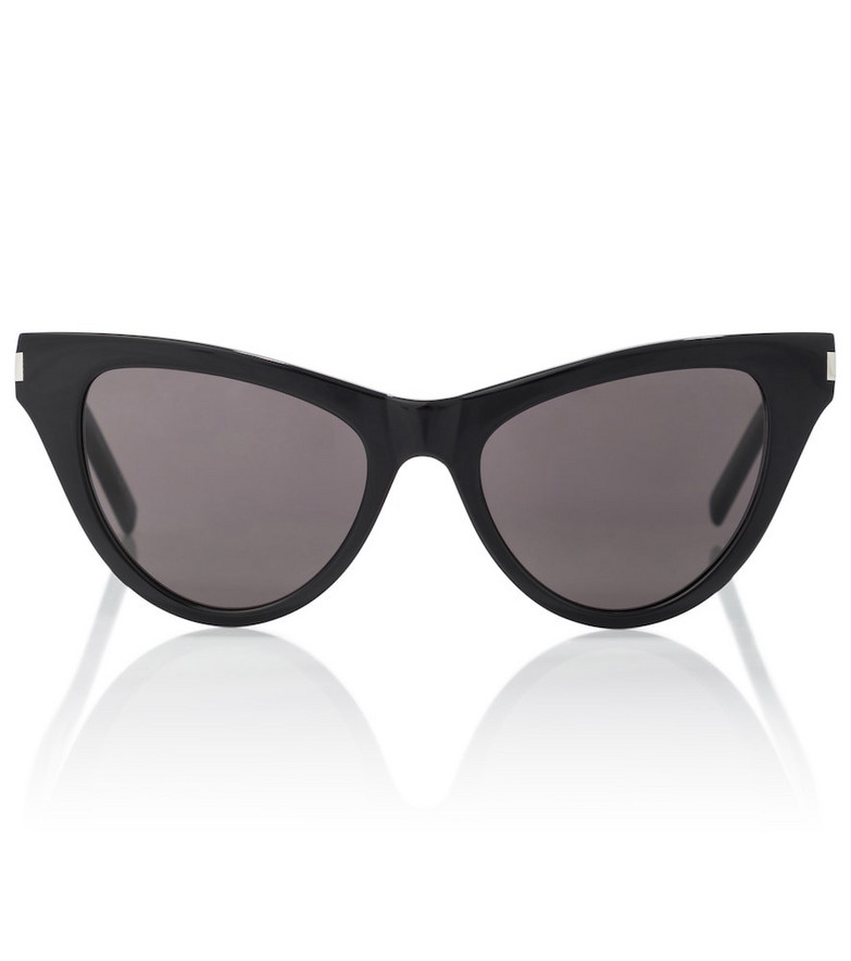 Saint Laurent SL 425 cat-eye acetate sunglasses in black