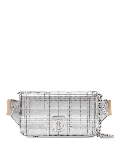 Burberry chain strap Lola belt bag in silver