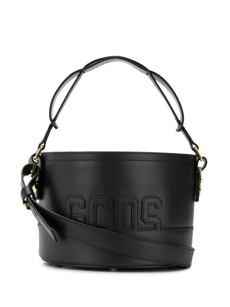 Gcds Patch Bucket Bag in black