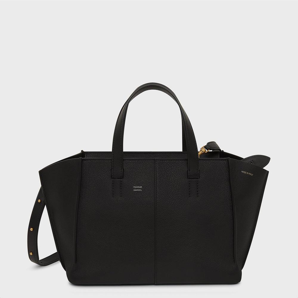Mansur Gavriel Soft Mini Zip Multitude Tote - Black