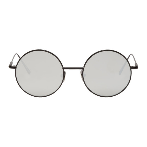 Acne Studios Black & Silver Scientist Sunglasses