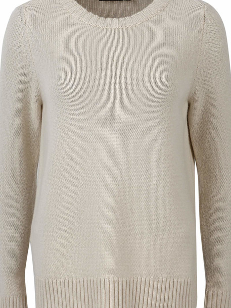 Max Mara Tibet Cashmere Pullover in ivory
