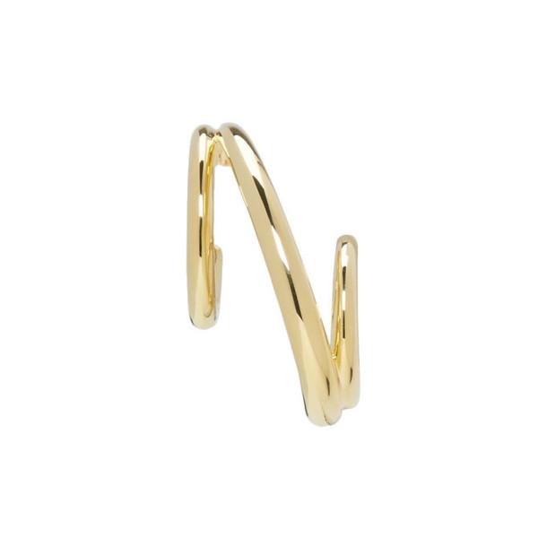Charlotte Chesnais Gold Single Triplet Earring