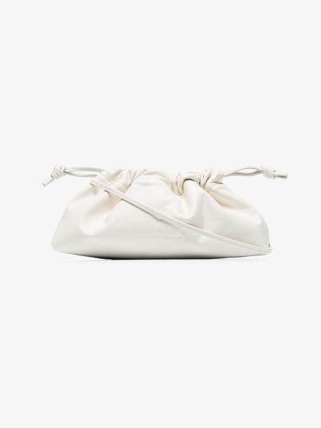 Studio Amelia white 1.1 drawstring leather mini bag