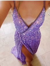 dress,purple,sparkly dress