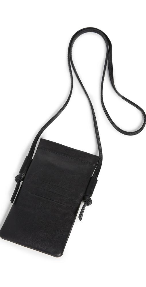 Madewell iPhone Crossbody Bag in black