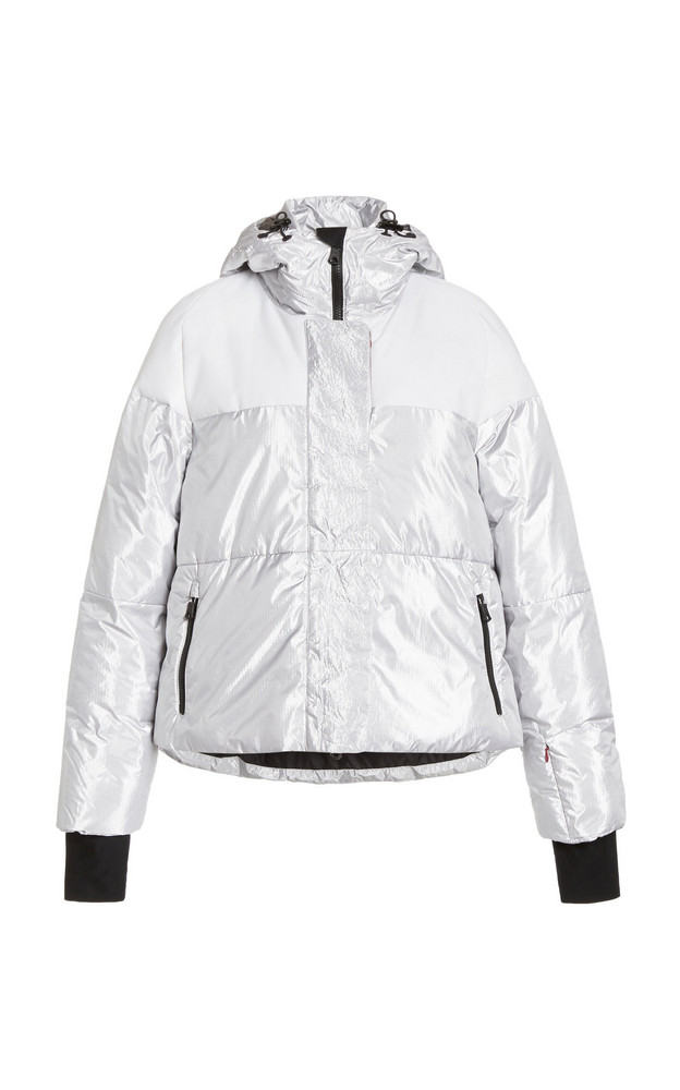 Erin Snow Lolita Padded Reflective Jacket in white