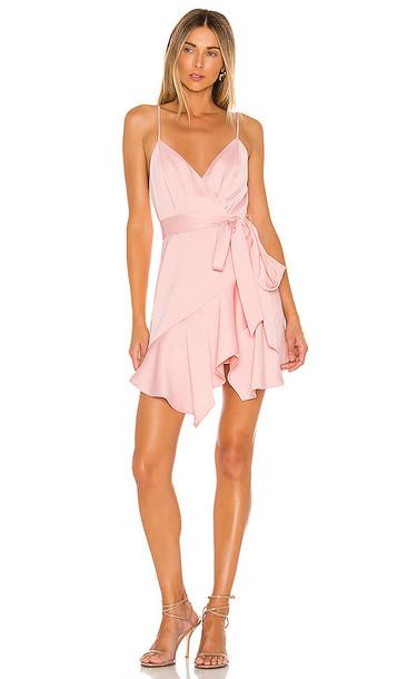 NBD Cameron Mini Dress in Pink