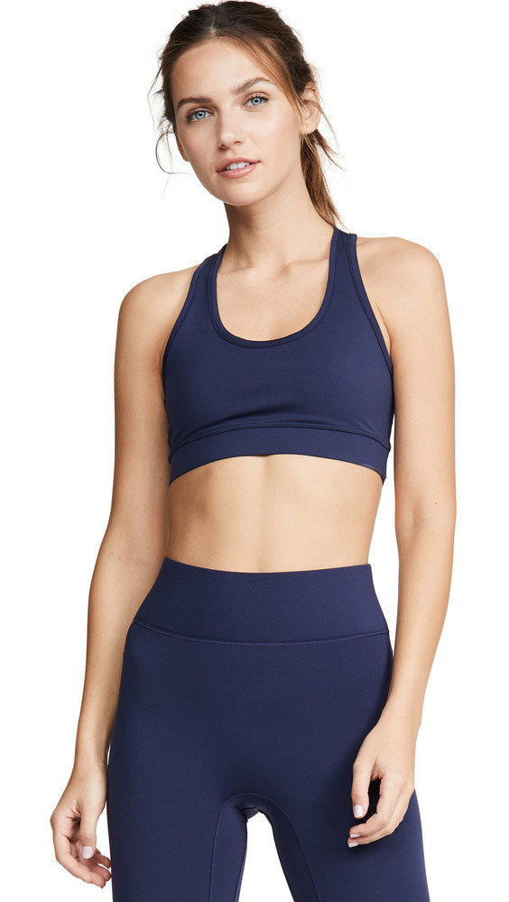All Access Front Row Bra in navy