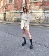 skirt,mini skirt,wrap skirt,black boots,sweater