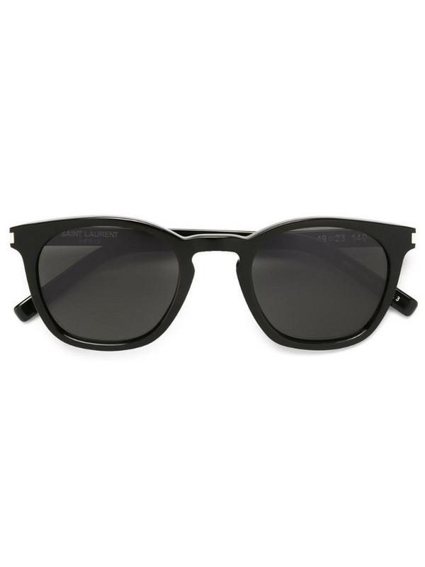 Saint Laurent Eyewear 'Classic 28' sunglasses in black