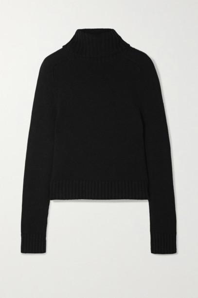 Nili Lotan - Atwood Cashmere Turtleneck Sweater - Black