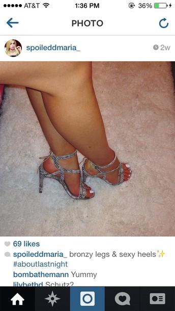 shoes snake skin heels cute want so bad