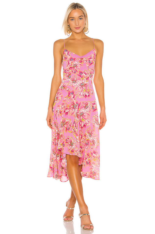 ASTR the Label Janine Dress in pink