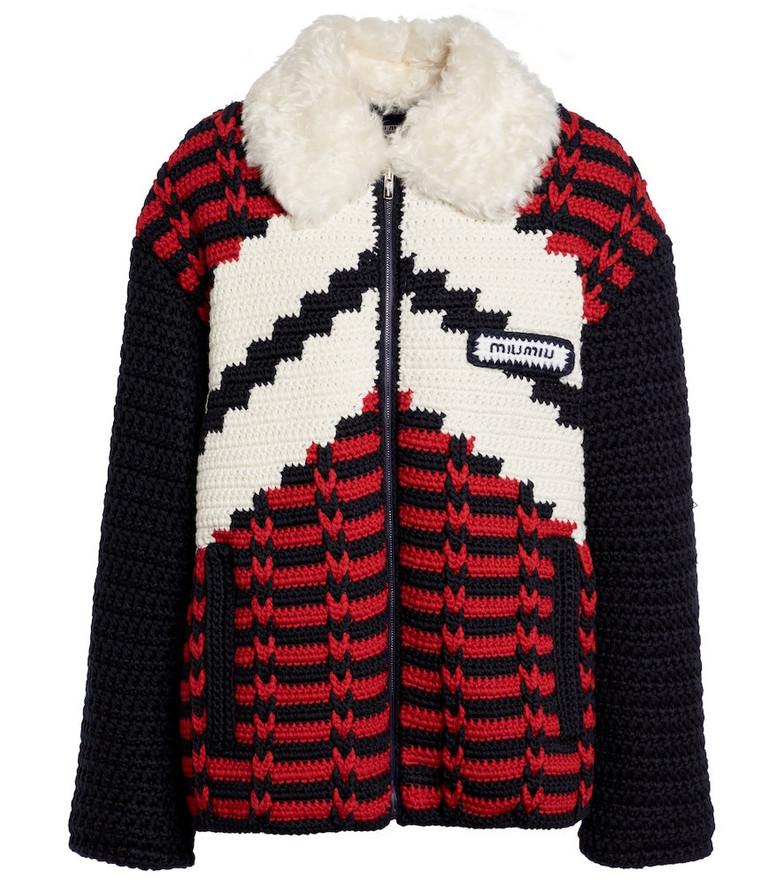Miu Miu Virgin wool jacket