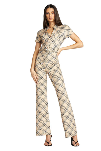 I Am Gia CARMEL JUMPSUIT