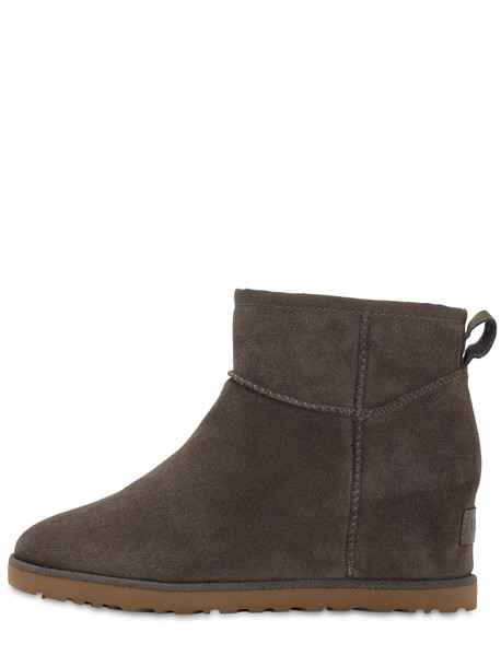 UGG AUSTRALIA 60mm Femme Shearling Boots in grey