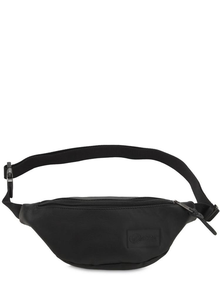 EASTPAK Springer Leather Belt Bag in black