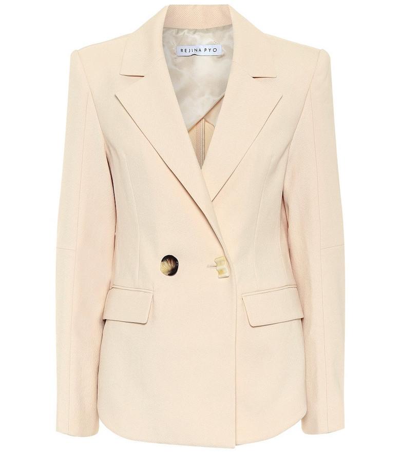 Rejina Pyo Una blazer in beige