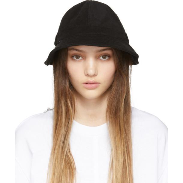 SJYP SSENSE Exclusive Black Terry Hat
