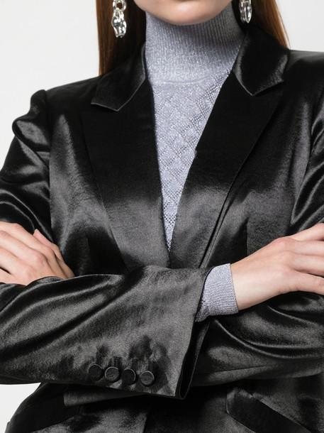 Cinq A Sept Vicky blazer coat in black