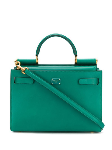 Dolce & Gabbana box tote bag in green