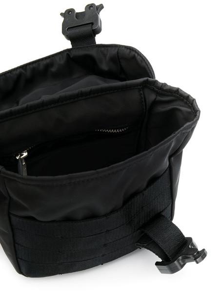1017 ALYX 9SM buckled shoulder bag in black