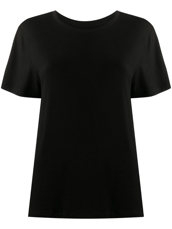 Styland plain basic T-shirt in black