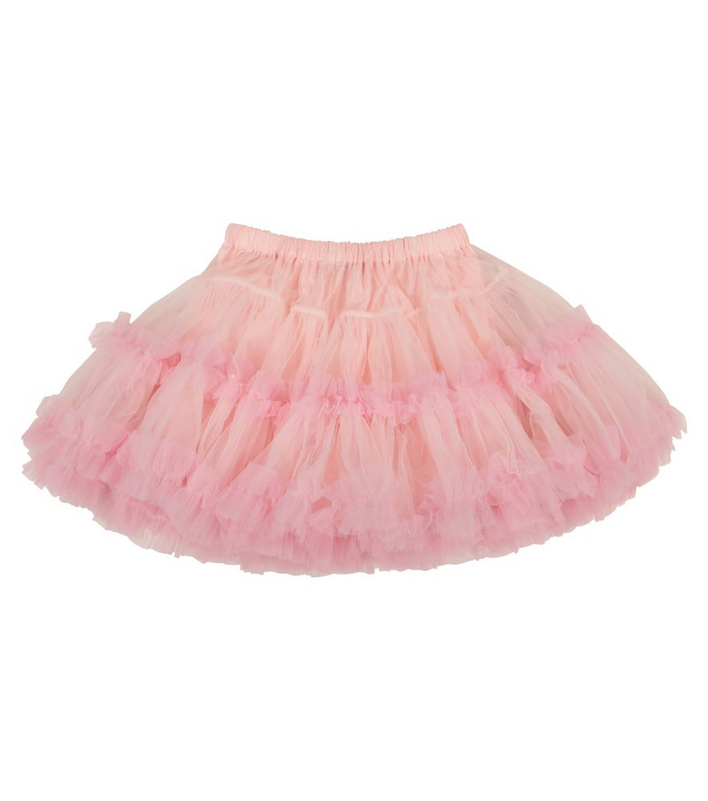 Dolce & Gabbana Kids Tulle skirt in pink