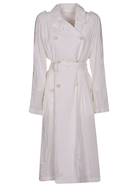 Helmut Lang Classic Trench in white