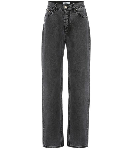 Eytys Benz high-rise boyfriend jeans in black