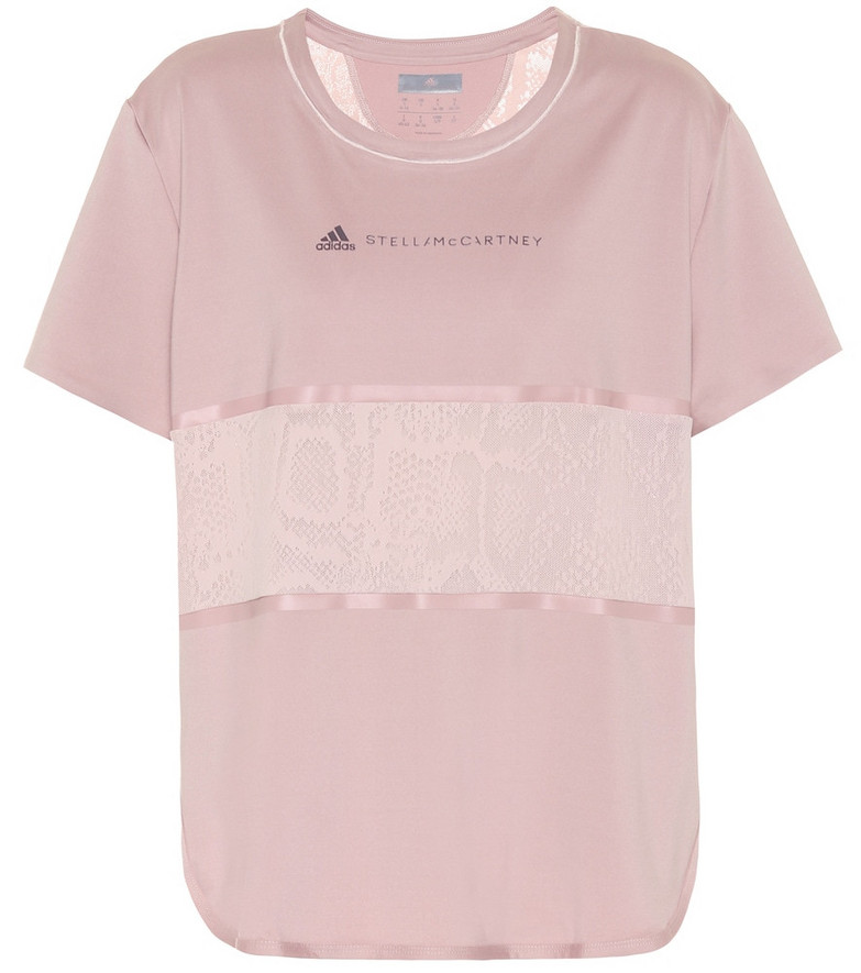 Adidas by Stella McCartney Technical T-shirt in pink