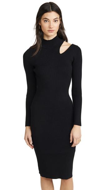 ASTR the Label Vivi Sweater Dress in black