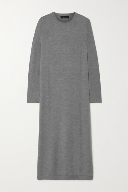 Lisa Yang - Beatrix Cashmere Maxi Dress - Gray