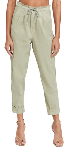 alice + olivia alice + olivia Liliana Cuff Paperbag Pants
