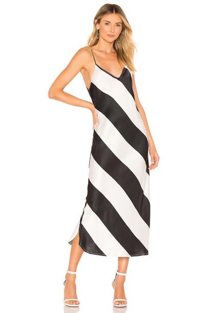 Dodo Bar Or Aline Dress in black / white