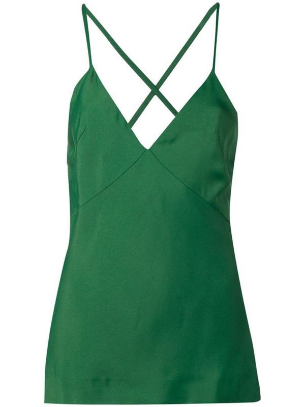 Haider Ackermann classic cami-top in green