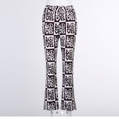 pants,black and white,peach,hippie,black dress,black,cool,funny,gorgeous,y2k