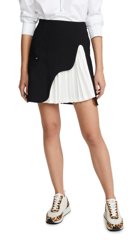 Toga Pulla Tricot Bonding Skirt in black