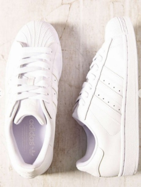 shoes adidas adidas originals adidas superstars white sneakers