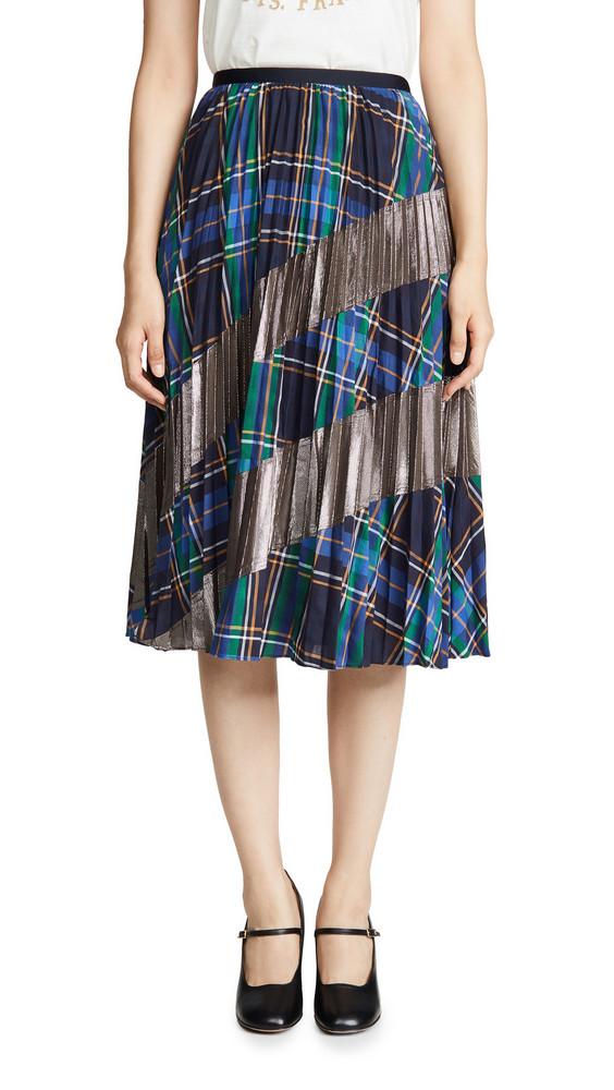 Tanya Taylor Reyna Skirt in blue