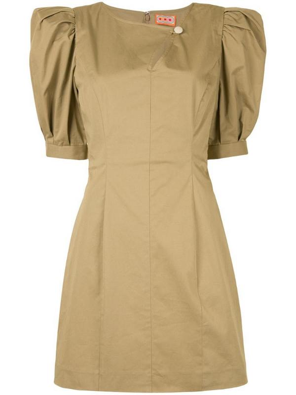 Lhd Bar Jean dress in brown