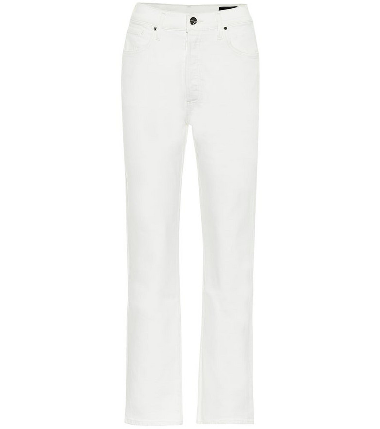 Goldsign The Cropped A jeans in white